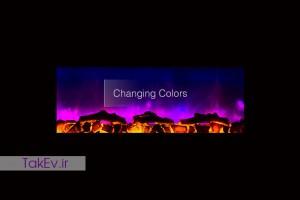 انواع نور شومینه های LCD