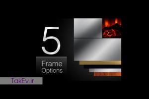 انواع فریم شومینه های LCD